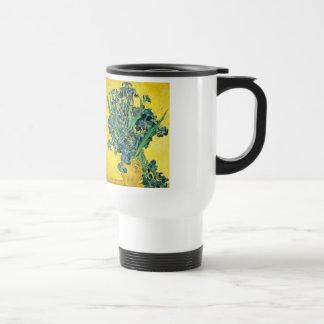 Van Gogh Irises Stainless Steel Travel Mug