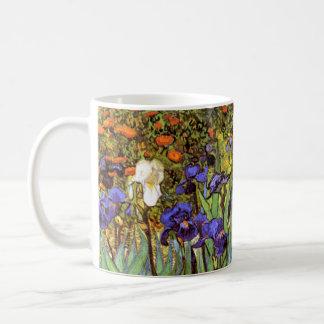 Van Gogh: Irises Basic White Mug
