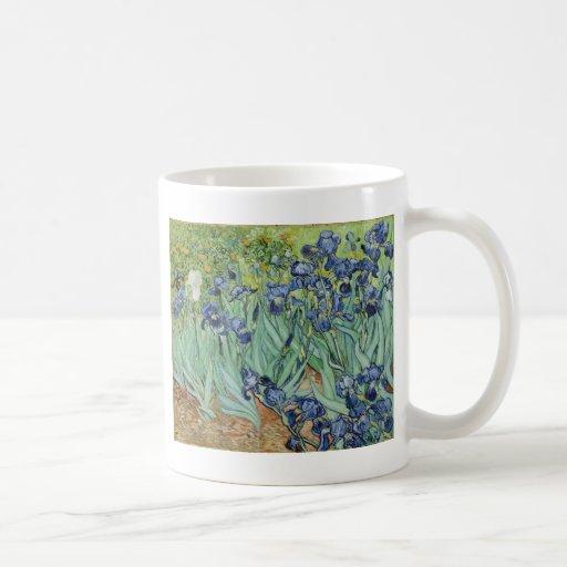 Van Gogh Irises Coffee Mugs