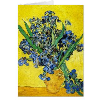 Van Gogh Irises Note Card