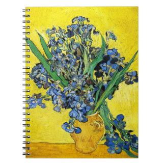 Van Gogh Irises Notebook