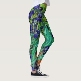 Van Gogh Irises/Purple/St. Remy Leggings