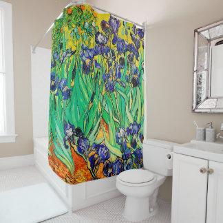 Van Gogh Irises/Purple/St. Remy Shower Curtain