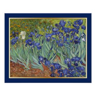 Van Gogh Irises Vintage Fine Art Floral