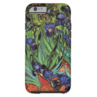 Van Gogh Irises, Vintage Post Impressionism Art Tough iPhone 6 Case