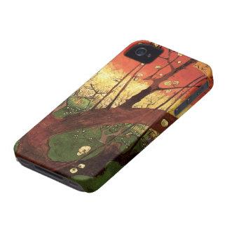 Van Gogh Japanese Flowering Plum Tree, Fine Art iPhone 4 Cases
