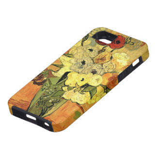 Van Gogh Japanese Vase with Roses and Anemones iPhone 5 Covers