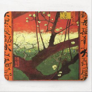Van Gogh Japonaiserie Mouse Pad