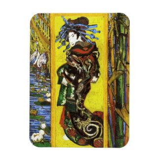 Van Gogh Japonaiserie Oiran Magnet