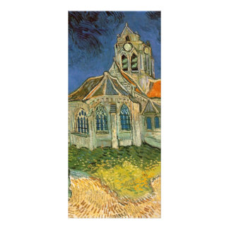 VAN GOGH - L EGLISE D AUVERS-SUR-OISE CUSTOM RACK CARD