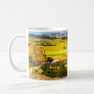Van Gogh: Landscape Near Arles Basic White Mug