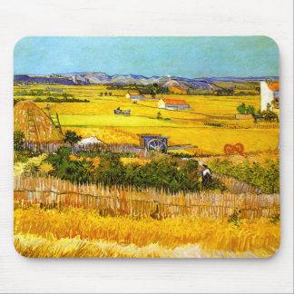 Van Gogh: Landscape Near Arles Mouse Pad