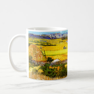 Van Gogh: Landscape Near Arles Classic White Coffee Mug