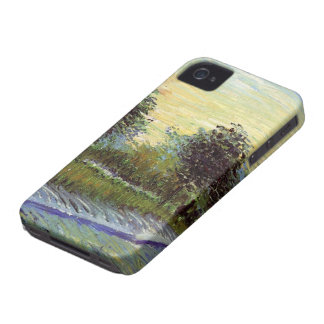 Van Gogh Lane in Voyer d'Argenson Park at Asnieres iPhone 4 Case-Mate Case
