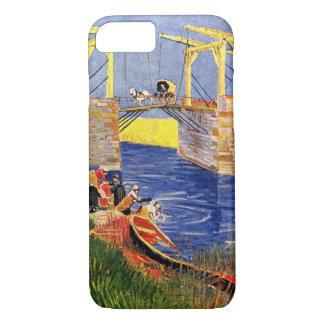 Van Gogh Langlois Bridge, Arles, Vintage Fine Art iPhone 7 Case