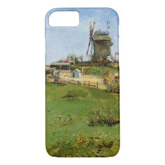 Van Gogh Le Moulin de la Galette, Vintage Windmill iPhone 7 Case
