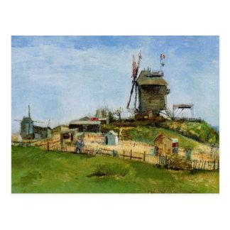 Van Gogh; Le Moulin de la Galette (Windmill) Postcard