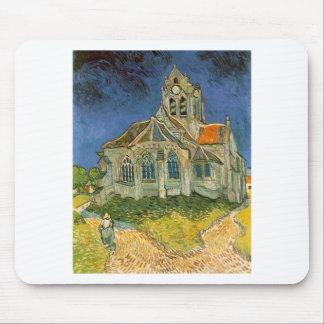 VAN GOGH - L'EGLISE D'AUVERS-SUR-OISE MOUSE PADS