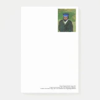 Van Gogh-like portrait large post-its Post-it Notes