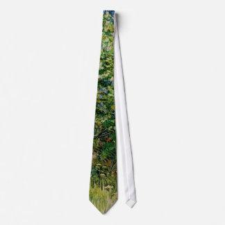 Van Gogh Lilacs Tie