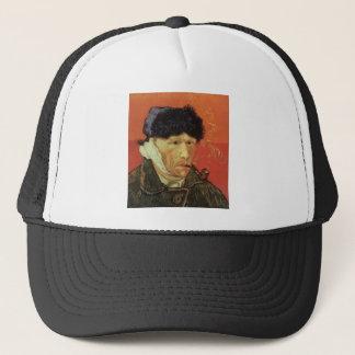 Van Gogh - Man With Pipe Trucker Hat