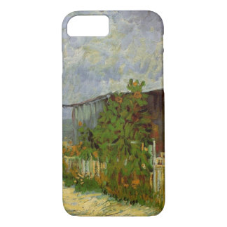 Van Gogh Montmartre Path with Sunflowers, Fine Art iPhone 7 Case