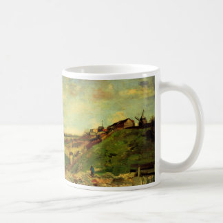 Van Gogh Montmartre: Quarry, the Mills, Fine Art Basic White Mug