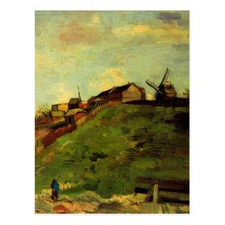 Van Gogh Montmartre: Quarry, the Mills, Fine Art Postcard
