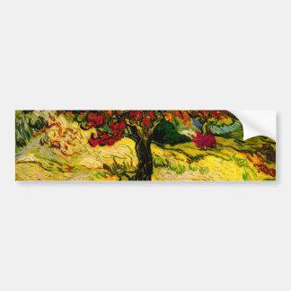Van Gogh Mulberry Tree (F637) Fine Art Bumper Sticker