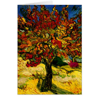 Van Gogh Mulberry Tree F637 Fine Art Greeting Card