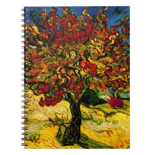 Van Gogh Mulberry Tree (F637) Fine Art Notebooks