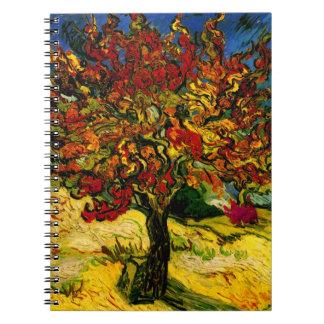 Van Gogh Mulberry Tree (F637) Fine Art Spiral Notebook