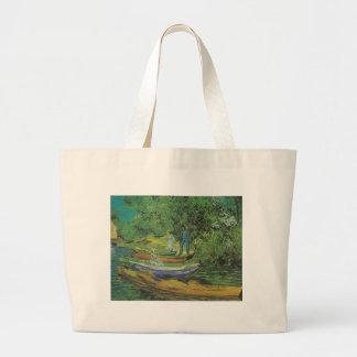 Van Gogh Nature Boat Lake Destiny Bags