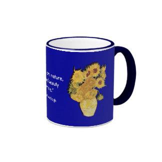 Van Gogh Nature Quote Gift Mug