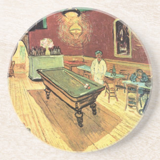 Van Gogh Night Cafe in the Place Lamartine, Arles Drink Coaster