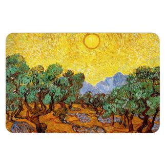 Van Gogh Olive Trees Magnet