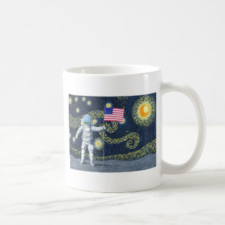 Van Gogh on the Moon Coffee Mug