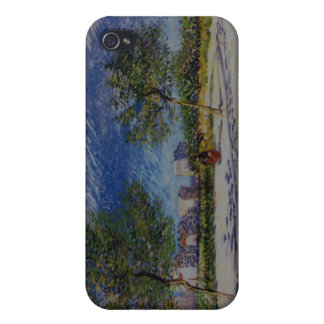 Van Gogh On the outskirts of Paris iPhone Speck Ca Case For iPhone 4