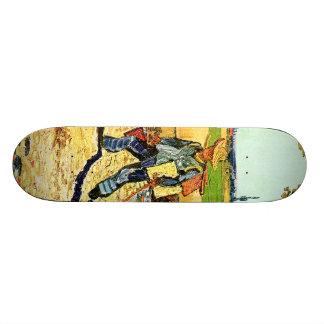 Van Gogh: Painter on His Way to Work Skate Board Deck