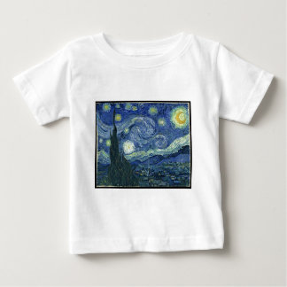 Van Gogh Paintings: Starry Night Van Gogh Baby T-Shirt