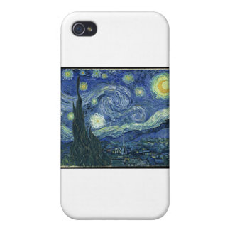 Van Gogh Paintings: Starry Night Van Gogh iPhone 4/4S Covers