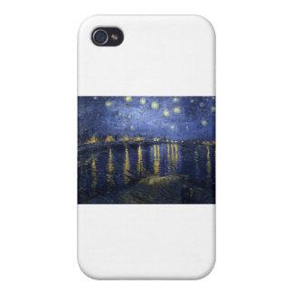 Van Gogh Paintings: Starry Night Van Gogh Rhone iPhone 4 Cover