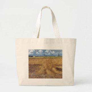 Van Gogh Paintings: Van Gogh Wheat Field Tote Bags
