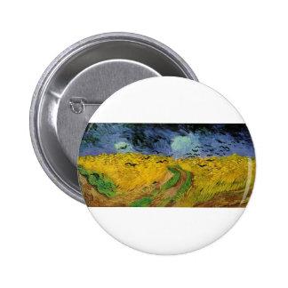 Van Gogh Paintings Van Gogh Wheat Field Pins