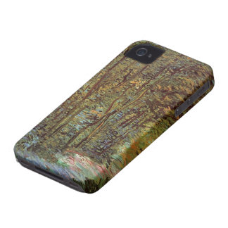 Van Gogh Path in the Woods, Vintage Fine Art iPhone 4 Cases