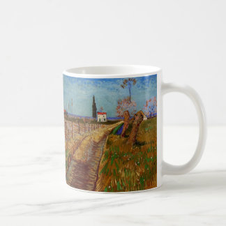 Van Gogh; Path Through a Field with Willows Mugs