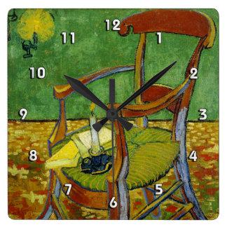 Van Gogh Paul Gauguin's Armchair (F499) Wall Clock