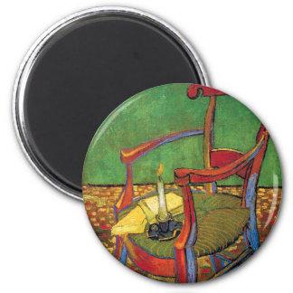 Van Gogh - Paul Gauguin's Armchair Magnet