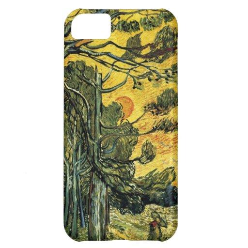 Van Gogh Pine Trees Case For iPhone 5C
