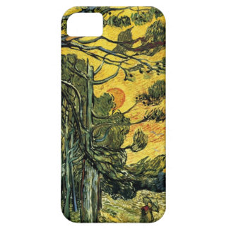 Van Gogh Pine Trees Barely There iPhone 5 Case